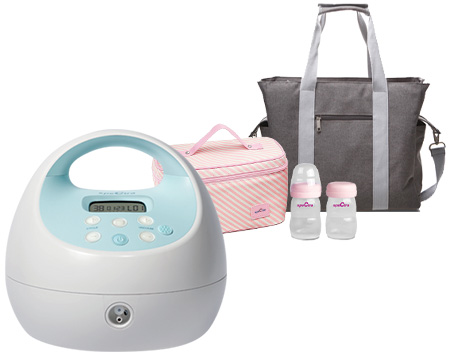 Grey Tote and Cooler Bundle
