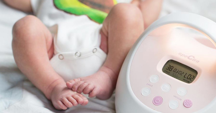 new born with s2 plus breast pump
